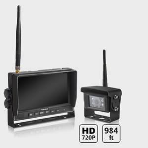 Heavy duty wireless camera set